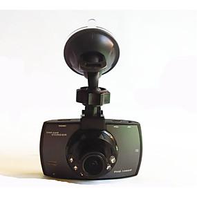 voordelige Auto DVR's-1080p Universeel Auto DVR 170 graden / 90 graden Wijde hoek CMOS Dash Cam met 6 infrarood LED's Autorecorder