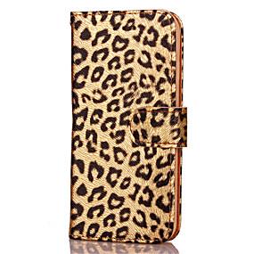 olcso iPhone tokok-iphone xr xs xs max kártyatartó / állvánnyal / flip tokkal leopárdnyomtatott kemény bőr iphone x 8 8 plus 7 7plus 6s 6s plus se 5 5s