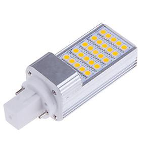 economico Luci LED Bi-pin-Luci LED Bi-pin 500-700 lm E14 G23 G24 T 25 Perline LED SMD 5050 Decorativo Bianco caldo Luce fredda 100-240 V 220-240 V 110-130 V / 1 pezzo / RoHs / CE