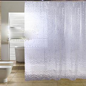 cheap Bathroom Gadgets-Shower Curtains Modern PEVA Floral / Botanical Machine Made
