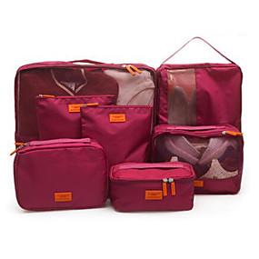 billige Rejsetilbehør-Rejse Rejsetaske Oppakningsorganisering Skotaske Opbevaring under rejser Vandtæt Støv-sikker Foldbar Stof Oxford tekstil
