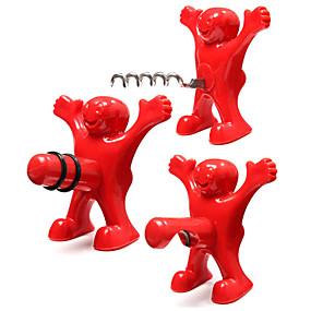저렴한 아이디어 도구-병따개 스테인레스 실리콘, 포도주 부속품 고품질 크리에이티브forBarware cm 0.146 킬로그램 1 개