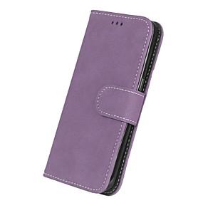 halpa Galaxy S -sarjan kotelot / kuoret-Etui Käyttötarkoitus Samsung Galaxy S7 edge / S7 Lomapkko / Korttikotelo / Flip Suojakuori Yhtenäinen Kova PU-nahka varten S7 edge / S7 / S6 edge