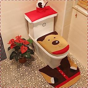 cheap Bathroom Gadgets-Bathtub Mats Cartoon Boutique Textile 1pc Other Bathroom Accessories