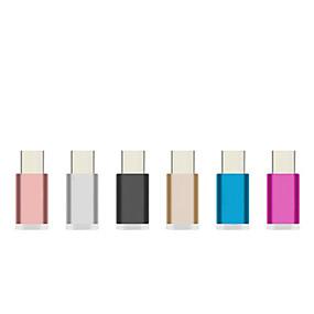 ieftine Mărci Premium-aluminiu colorat USB 3.1 tip C Adaptor încărcător rapid de încărcare de sincronizare de date pentru Xiaomi 4c / UMI pro fier / Meizu pro 5