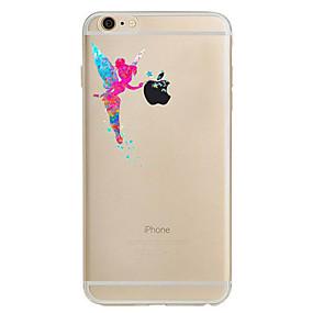 billige Daglige tilbud-Etui Til Apple iPhone 8 / iPhone 8 Plus / iPhone 7 Ultratynn / Mønster Bakdeksel Sexy dame Myk TPU til iPhone 8 Plus / iPhone 8 / iPhone 7 Plus