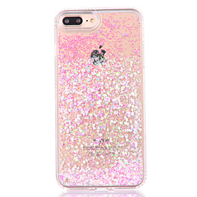 levne iPhone pouzdra-Carcasă Pro Apple iPhone 8 / iPhone 8 Plus / iPhone 7 S plynem Zadní kryt Třpytivý Pevné PC pro iPhone 8 Plus / iPhone 8 / iPhone 7 Plus