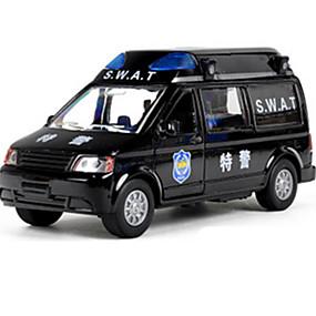رخيصةأون ألعاب السيارات-المركبات العسكرية التراجع المركبات 1:10 معدن تتلاشى السوداء