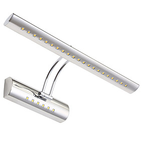 billige Væglamper-max 5w moderne moderne led wall lampe badeværelse spejl washroon væg lampe armaturer rustfrit stål
