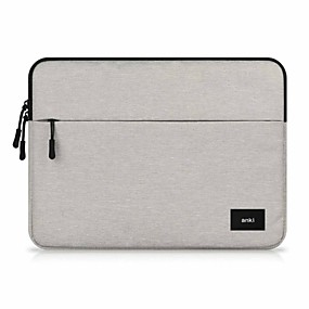 preiswerte Mac-Zubehör-Ärmel Solide / Geschäftlich Textil für MacBook Air 11 Zoll / MacBook Pro 13 Zoll mit Retina - Bildschirm / MacBook Air 13 Zoll