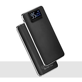 halpa Virtapankit-20000mah 5v 2a kannettava virtalähde laturin taskulamppu, jossa on älykäs digitaalinen näyttö ulkoinen akkulaturi matkapuhelimelle