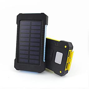 Недорогие 7500–10000 мАч-Назначение Внешняя батарея Power Bank 5 V Назначение # Назначение Зарядное устройство Водонепроницаемость / Подсветка / Несколько разъемов LED