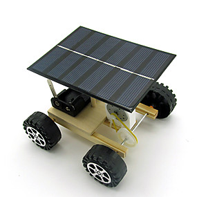 Недорогие Модели и игрушки-Игрушечные машинки Игрушки на солнечной батарейке Обучающая игрушка Барабанная установка Солнечная батарея Своими руками Детские Мальчики Девочки Игрушки Подарок