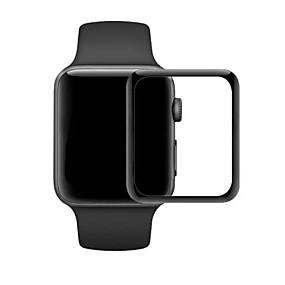 billige Apple-tilbehør-Skærmbeskytter Til iWatch 38mm iWatch 42mm Hærdet Glas 2.5D bøjet kant 1 stk