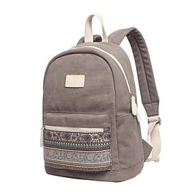 """tanie Gadżety do laptopów-15"""" Laptop Plecaki Płótno Styl bohemy / Miks kolorów dla biura biznesowego dla Colleages & Schools na podróż Wodoszczelność Odporne na wstrząsy"""