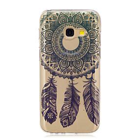 voordelige Galaxy A5(2016) Hoesjes / covers-hoesje Voor Samsung Galaxy A3 (2017) / A5 (2017) / A5(2016) Doorzichtig / Patroon Achterkant Dromenvanger Zacht TPU
