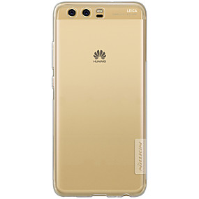voordelige Huawei Honor hoesjes / covers-hoesje Voor Huawei P10 Plus / P10 Lite / P10 Transparant Achterkant Effen Zacht TPU / Mate 9 Pro