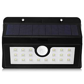 ieftine Becuri Solare LED-BRELONG® 5 W Proiectoare LED Rezistent la apă / Senzor cu Infraroșii / Ușor de Instalat Alb Natural Hol / Scări / Depozit / Debara / Garaj / Parcare 20 LED-uri de margele