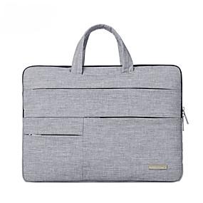 """tanie Gadżety do laptopów-15"""" Laptop Torebki Nylon Jednokolorowe dla biura biznesowego dla Colleages & Schools na podróż Odporne na wstrząsy"""