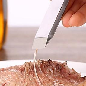 ieftine Ustensile Bucătărie & Gadget-uri-Teak Tong Bucătărie Gadget creativ Instrumente pentru ustensile de bucătărie pentru pește 1 buc