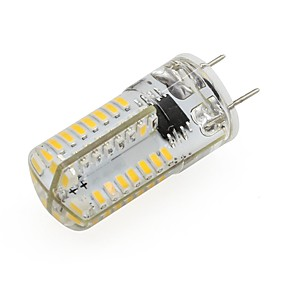 abordables Luces LED de Doble Pin-1pc 2 W Luces LED de Doble Pin 210 lm G8 T 64 Cuentas LED SMD 3014 Decorativa Blanco Cálido Blanco Fresco 110-120 V / 1 pieza / Cañas