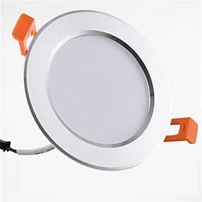 billige Downlights-1pc 9 W 900 lm 20 LED Perler Let Instalation Forsænket LED nedlys Varm hvid Kold hvid 85-265 V Hjem / kontor Børneværelser Køkken / 1 stk. / RoHs / CE