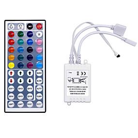 Недорогие RGB контроллеры-hkv® 44 ключ ir пульт дистанционного управления rgb светодиодный диммер для светодиодной лампы ламповый мини-контроллер rgb