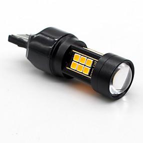 voordelige Auto-achterverlichting-SO.K 2pcs T20 (7440,7443) / BAU15S Automatisch Lampen 7 W SMD 3030 800 lm Achterlicht