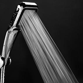 economico Cucina e utensili da cucina-Soffione doccia a 300 fori con spruzzatore a spruzzo d'acqua con doccia a pioggia quadrata cromata