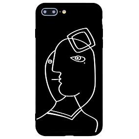 levne iPhone pouzdra-Carcasă Pro Apple iPhone 7 / iPhone 7 Plus Matné / Vzor Zadní kryt Vlnky Pevné Akrylát pro iPhone 7 Plus / iPhone 7 / iPhone 6s Plus
