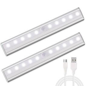 ieftine Lumini Nocturne LED-1set LED-uri de lumină de noapte USD Senzor cu Infraroșii