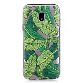 voordelige Galaxy J3 Hoesjes / covers-hoesje Voor Samsung Galaxy J7 Prime / J7 (2017) / J7 (2016) IMD / Transparant / Patroon Achterkant Boom Zacht TPU