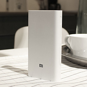billige Universal mobiltilbehør-Xiaomi 20000 mAh Til Power Bank Eksternt batteri 5-12 V Til Til Batterioplader Restaurering beskyttelse / QC 2.0 LED