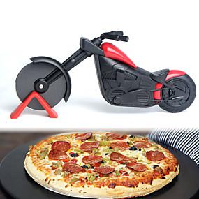 ieftine Bucătărie & Masă-motocicleta pizza tăietor din oțel inoxidabil roată cuțit bicicleta bicicleta bicicleta pizza elicopter feliere cuțite cuțite