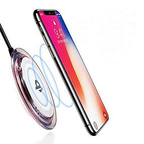 ieftine Cumpărături în Grup-non-alunecare qi încărcător fără fir pentru iphone xs iphone xr xs max iphone 8 samsung s9 plus s8 nota 8 sau încorporat qi receptor inteligent telefon
