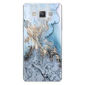 voordelige Galaxy A8 Hoesjes / covers-hoesje Voor Samsung Galaxy A3 (2017) / A5 (2017) / A7 (2017) Patroon Achterkant Lijnen / golven / Marmer Zacht TPU