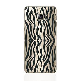 voordelige Galaxy S7 Hoesjes / covers-hoesje Voor Samsung Galaxy S8 Plus / S8 / S7 edge Patroon Achterkant Lijnen / golven Zacht TPU