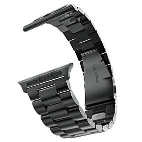 preiswerte Apple Watch Armbänder-Uhrenarmband für Apple Watch Series 4/3/2/1 Apple Schmetterling Schnalle Edelstahl Handschlaufe