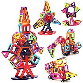 ieftine Jucării & Hobby-uri-Bloc magnetic Placi magnetice Lego 40 pcs Vehicule Pisici Mașină Transformabil Interacțiunea părinte-copil Clasic Băieți Fete Jucarii Cadou