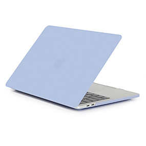 """cheap MacBook Pro 15"""" Cases-MacBook Case for Air Pro Retina 11 12 13 15 Laptop Cover Solid Colored Transparent Matt PVC Case for Macbook New Pro 13.3 15 inch with Touch Bar"""