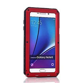 Недорогие Чехлы и кейсы для Galaxy Note 8-Кейс для Назначение SSamsung Galaxy Note 8 / Note 5 / Note 4 Защита от удара Чехол броня Твердый Металл