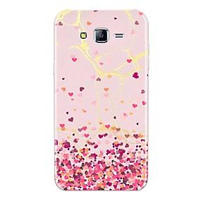 voordelige Galaxy J5(2017) Hoesjes / covers-hoesje Voor Samsung Galaxy J7 (2017) / J7 (2016) / J7 Patroon Achterkant Tegel / Hart / Marmer Zacht TPU