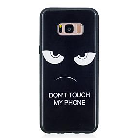 voordelige Galaxy S7 Edge Hoesjes / covers-hoesje Voor Samsung Galaxy S8 Plus / S8 / S7 edge Patroon Achterkant Woord / tekst Zacht TPU