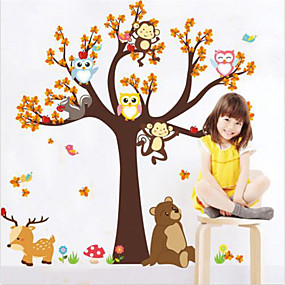 cheap Decoration Stickers-Animals Wall Stickers Plane Wall Stickers Decorative Wall Stickers, Vinyl Home Decoration Wall Decal Wall