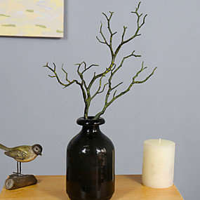 preiswerte Künstliche Blumen-Künstliche Blumen 1 Ast Simple Style Pflanzen Tisch-Blumen