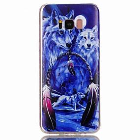 voordelige Galaxy S7 Edge Hoesjes / covers-hoesje Voor Samsung Galaxy S8 Plus / S8 / S7 edge Patroon Achterkant dier Zacht TPU