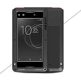 baratos Sony-Capinha Para Sony Xperia XA1 Ultra / Xperia XA1 Água / Dirt / à prova de choque Capa Proteção Completa Sólido Rígida Metal para Sony Xperia XA1 Ultra / Sony Xperia XA1