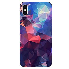 abordables Coques d'iPhone-cas pour apple iphone xr xs xs motif maximum couverture arrière motif géométrique soft tpu pour iphone x 8 8 plus 7 7plus 6s 6s plus se 5 5s