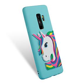 voordelige Galaxy S7 Hoesjes / covers-hoesje Voor Samsung Galaxy S9 / S9 Plus / S8 Plus Patroon / DHZ Achterkant Eenhoorn Zacht TPU