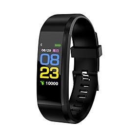 cheap Smart Wristbands-Smart Bracelet Smartwatch KL115 for Heart Rate Monitor / Pedometers / Message Reminder / Call Reminder Pedometer / Call Reminder / Fitness Tracker / Activity Tracker / Sleep Tracker / Alarm Clock